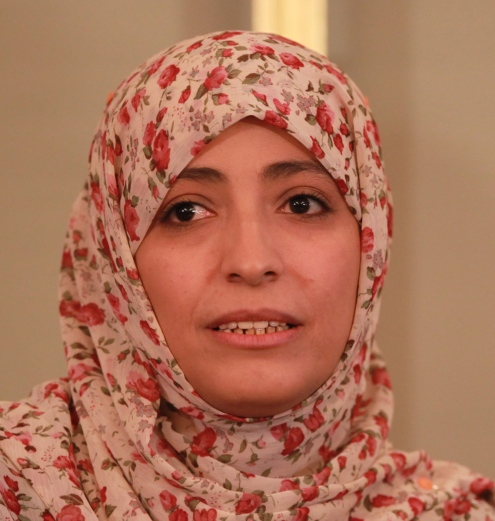 Tawakkol Karman Nobel Laureate