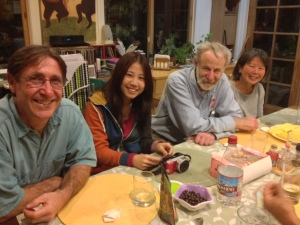 Folks from USA, Taiwan, Russia, and Ma lasia