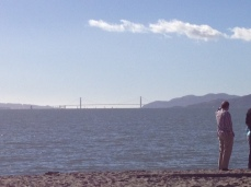 2 men beach