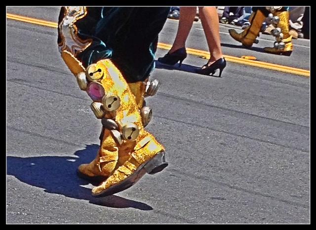 Big Golden Boots