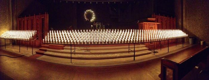 Christmas Eve Candele lights