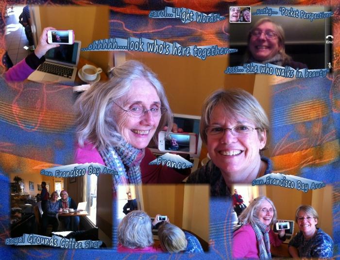 Joss Carol Kathy face time