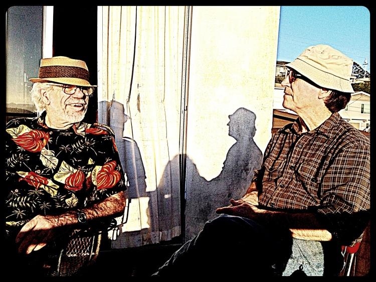 1. John and Jim and their shadows