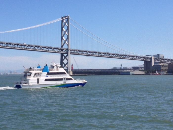 Oakland San Fransisco Ferry Boat