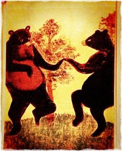 A pair of Dancing bears