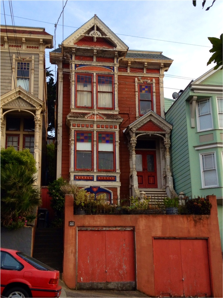 Painted Lady between two