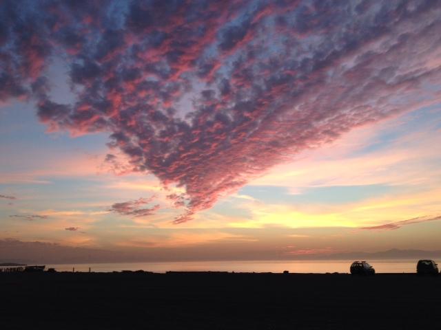 Purple Sunset SF Bay