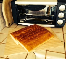 Blessing of the bread and new toaster