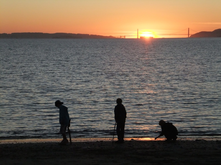 Golden Gate from Albany Beach