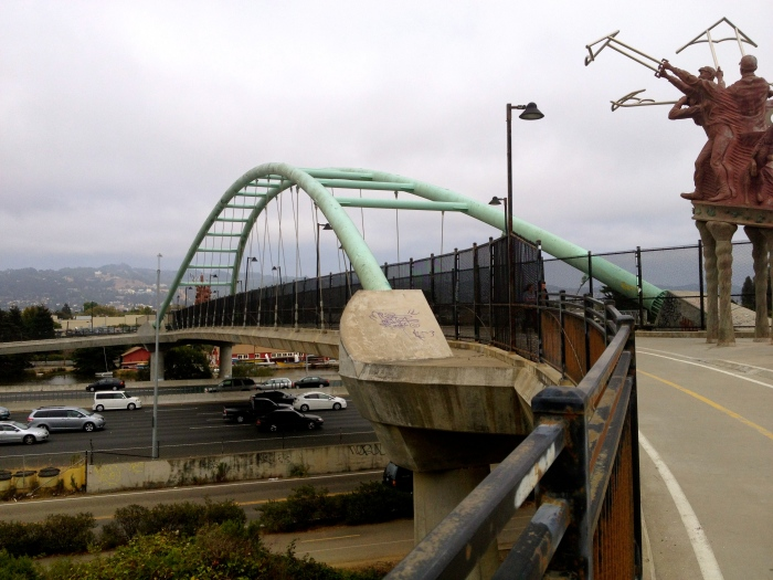 I-80 Under Berkeley's Pedestrian Bridge