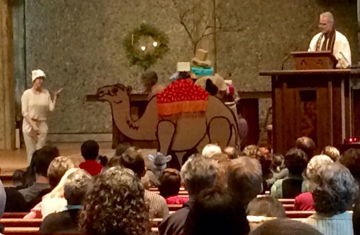 Camel in Church