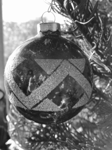 Old glass ornament