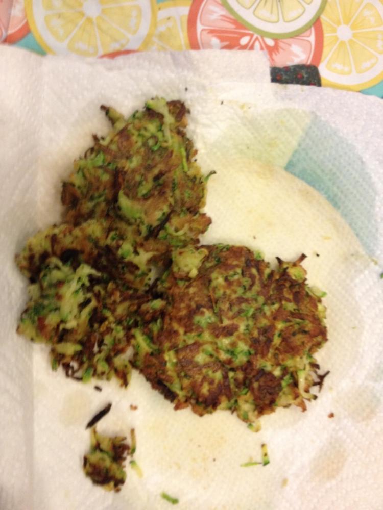 Zucchini Latka
