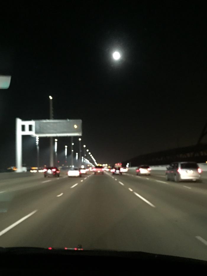 Moon Road over Bridge