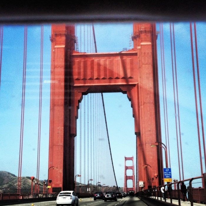 Golden Gate Bridge I believe the paint color is Nautical Orange!
