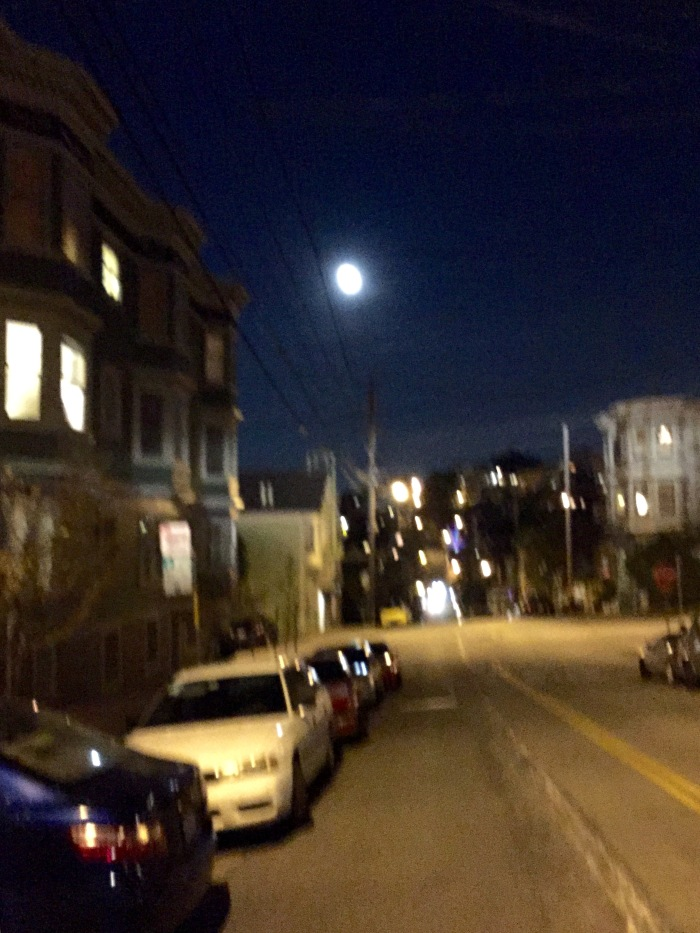Full Moon ove the Castro