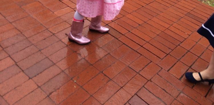 Pink Boots Feet