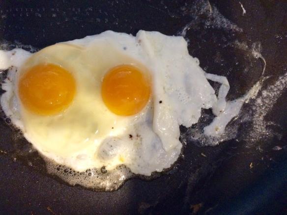 Doubled Yoked Egg