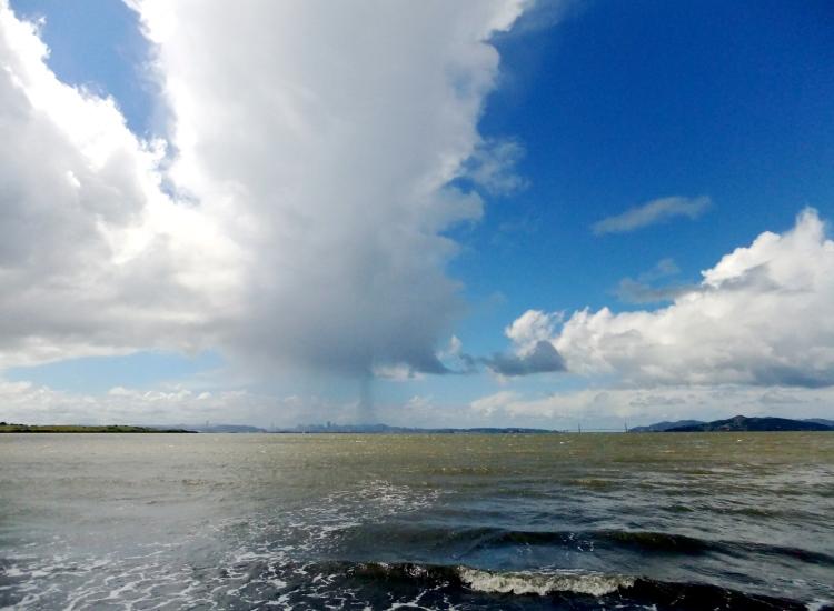 Rain on the Bay