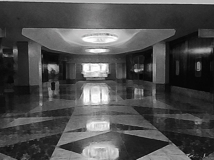 Marble Floor of Rincon Center