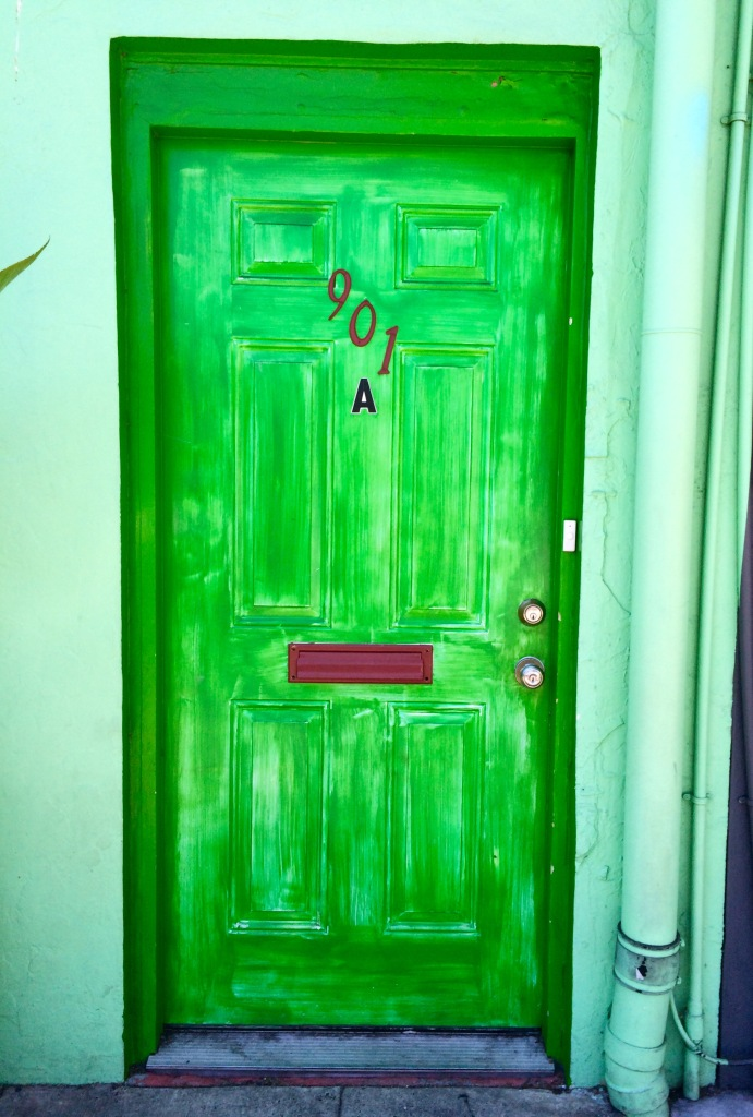 The Green Door?