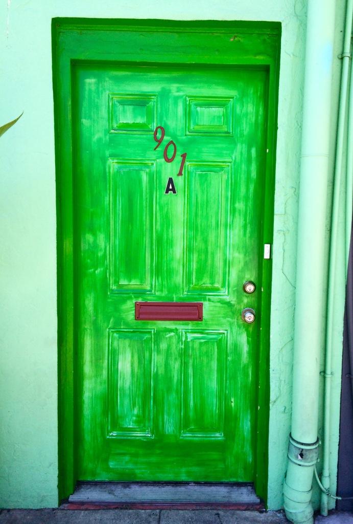 The Green Door?