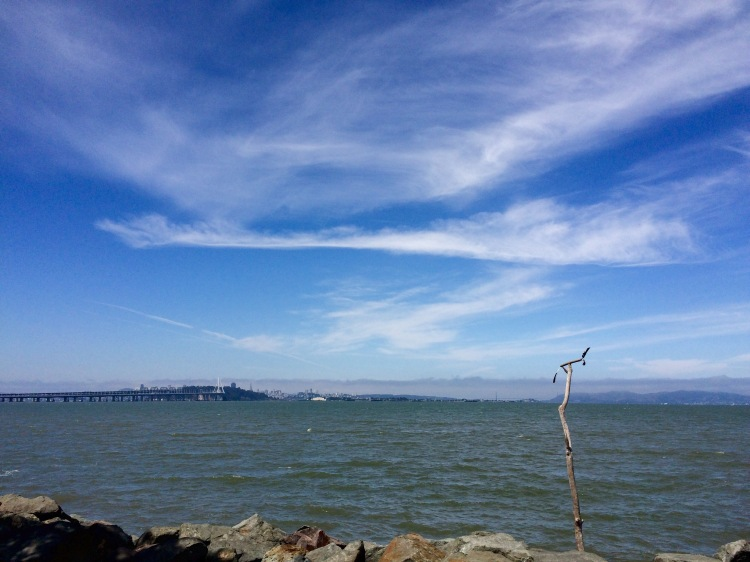 Sky and Bay from Emeryville