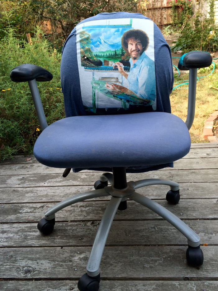 Bob Ross adds Color