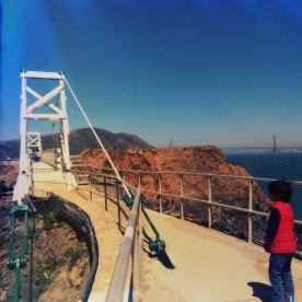 Bridge to Light house and Golden Gate