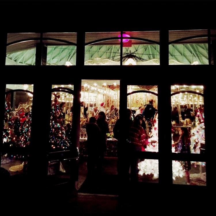Christmas Carrousel In Tilden Park