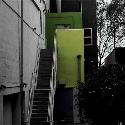 Mysterious Green Door