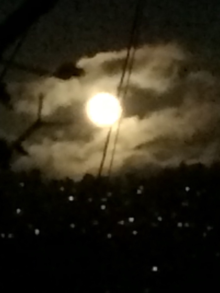 Strange Moon rising