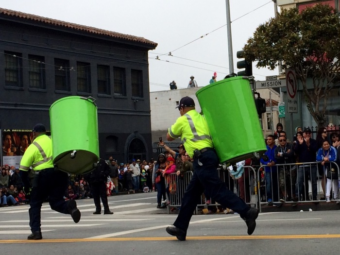SF Sanitation Workers Persian Drill Team