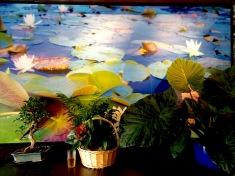 Vietnamese Restaurant Lilly Mural