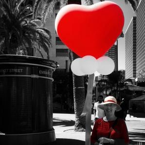 Ann has a big RED heart