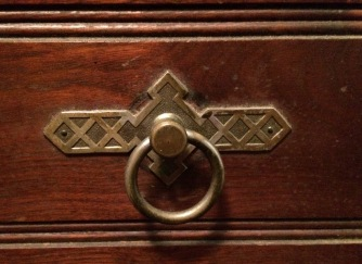 Art Deco Drawer pull
