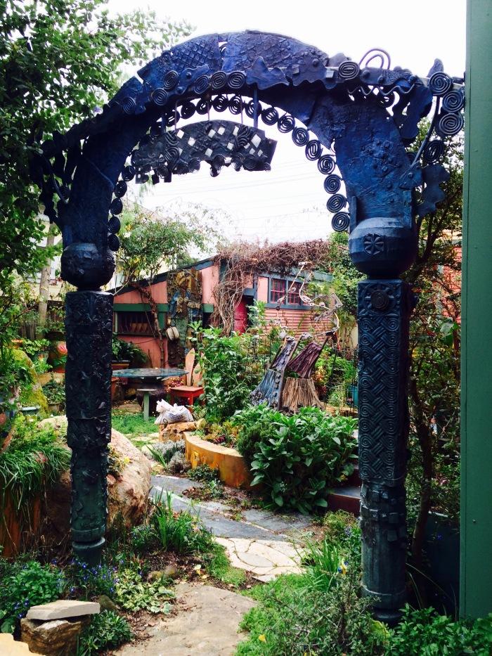 Gate At Keeyla's Garden