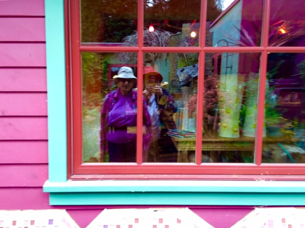 Window in At Keeya's Garden