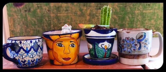 Mexican Pots and Cups