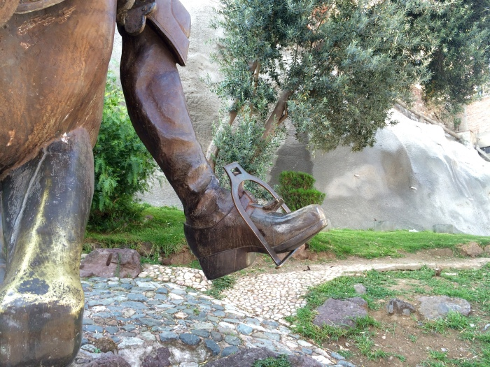 Don Quixote's Big Boots