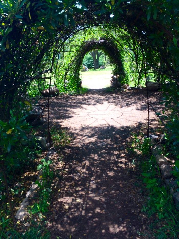 Garden Archway San Miguel Allende