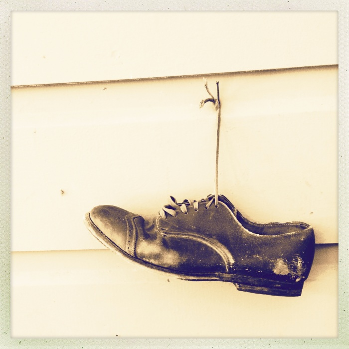Lonely shoe