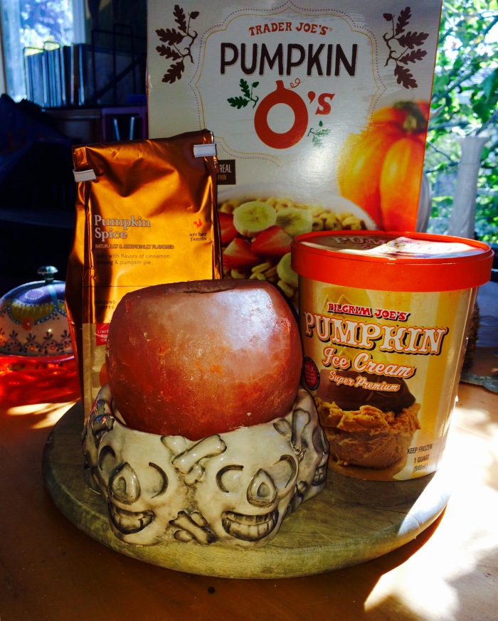 Pumpkin Products Arrived last Month
