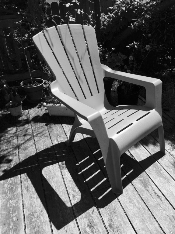 Lawn Chair and its Shadow