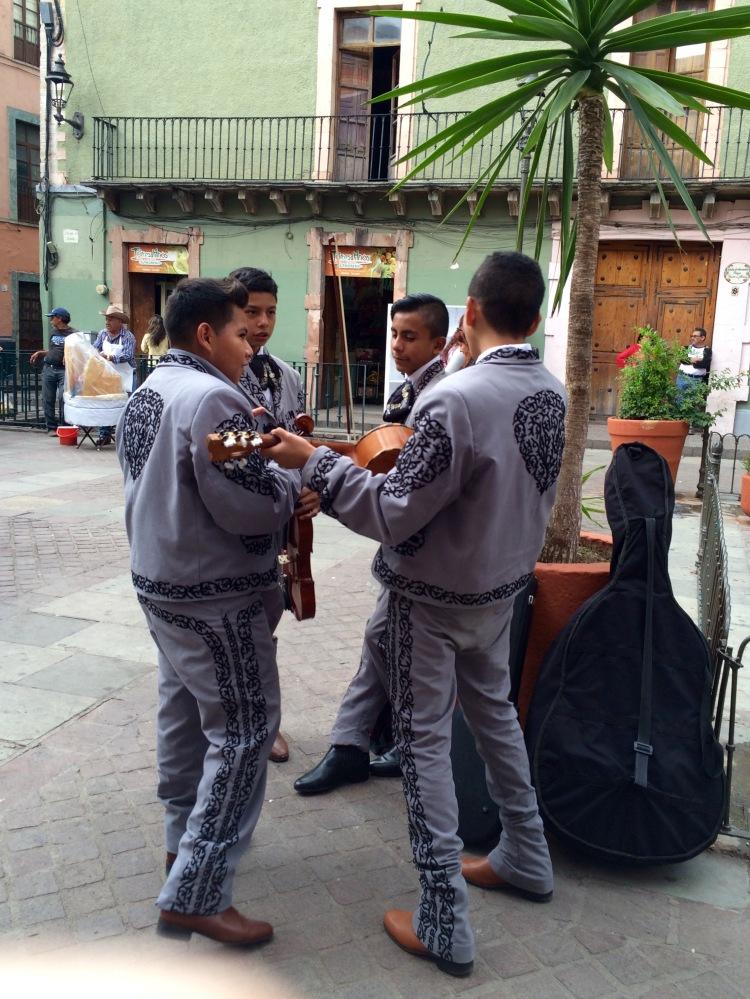 Mariachi Rehearsal