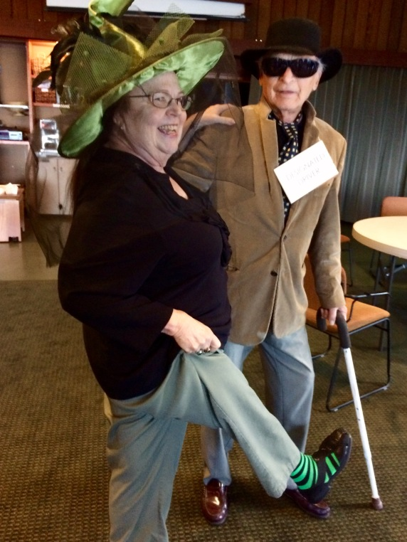 Blind John is Lois' Designated Driver