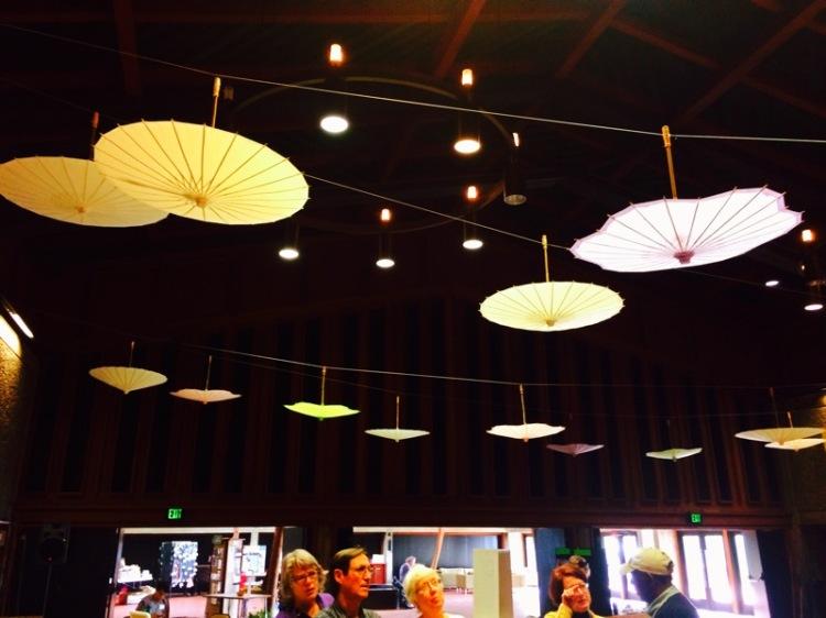 Umbrella ceiling Decorations