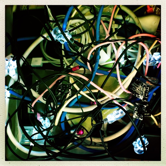 Cable Drawer chaos