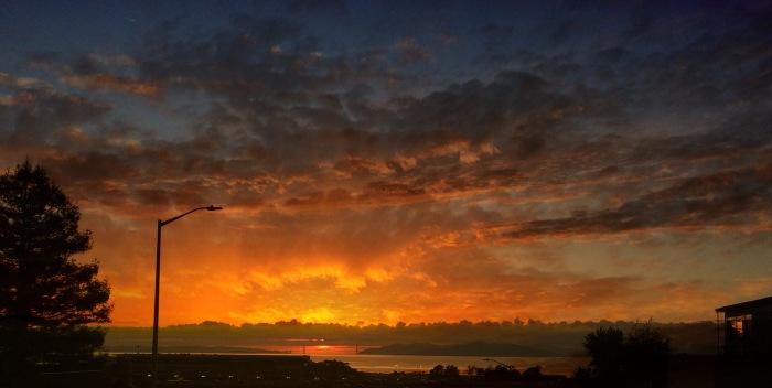 2 Sunsets Photomontage