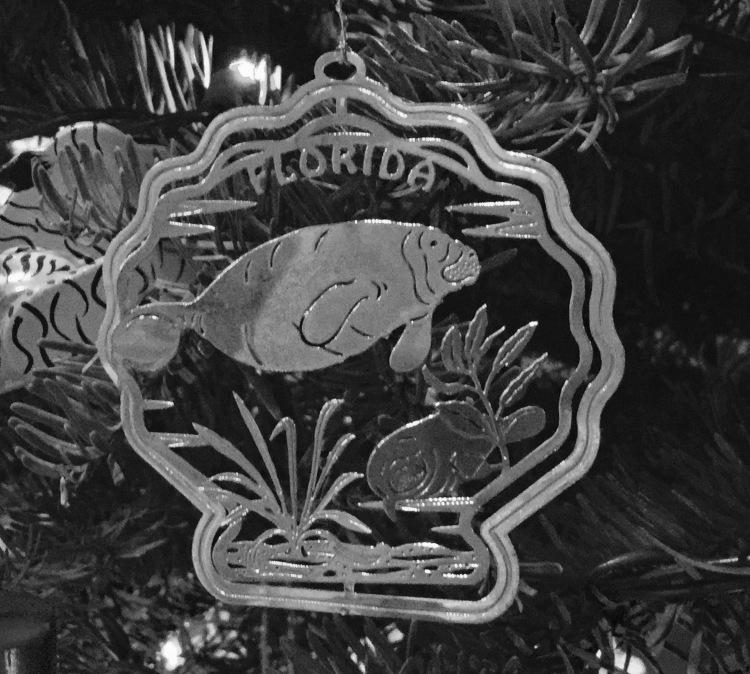 Manatee Ornament